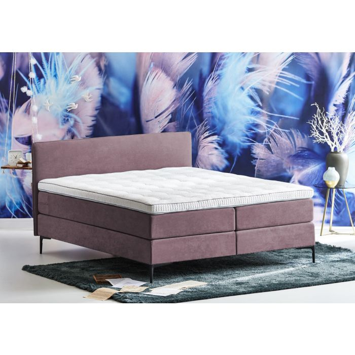 Cinderella Boxspring Pure Wave Compleet - Roze