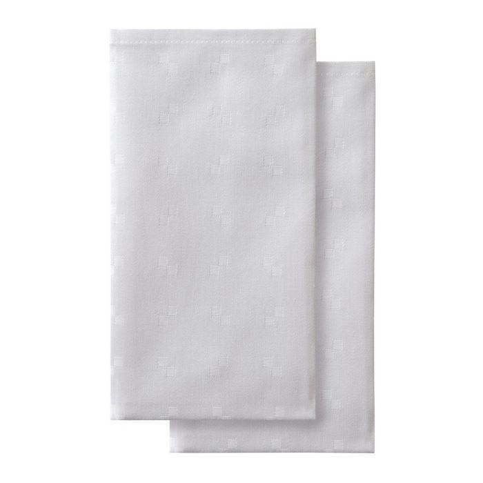 DDDDD Servetten Quadrat 50x50cm - white - set van 2