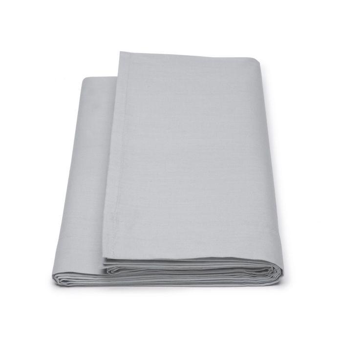Damai Laken Biologisch Katoen Satijn - light grey