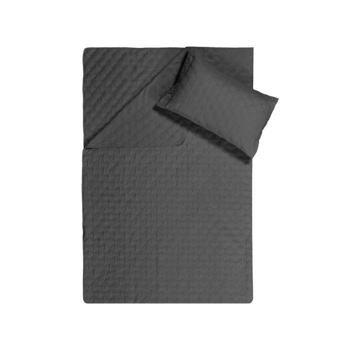 Sleeptime Chrone Bedsprei - black 260x250cm