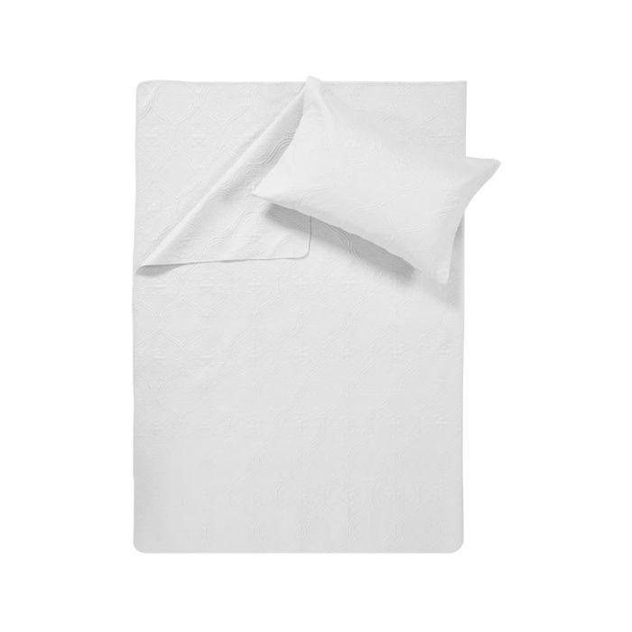 Sleeptime Art Bedsprei - white 260x250cm