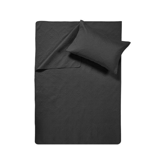 Sleeptime Art Bedsprei - black 260x250cm