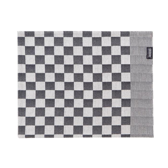 DDDDD Placemats Barbeque 35x45cm - black - set van 2 - in Placemats