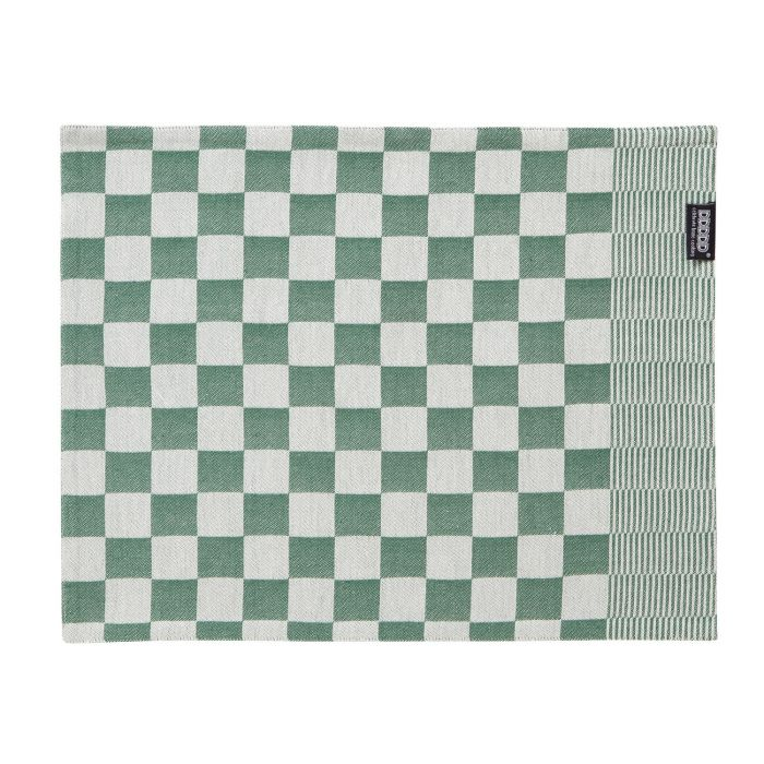 DDDDD Placemats Barbeque 35x45cm - green - set van 2 - in Placemats
