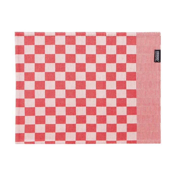 DDDDD Placemats Barbeque 35x45cm - red - set van 2 - in Placemats
