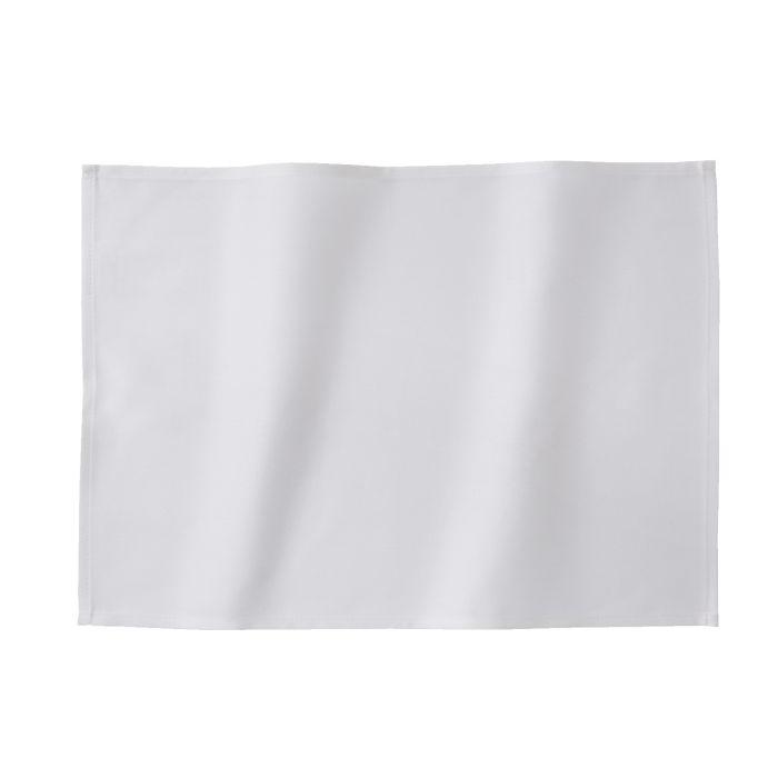 DDDDD Placemats Latus 50x35cm - white - set van 4 - in Placemats