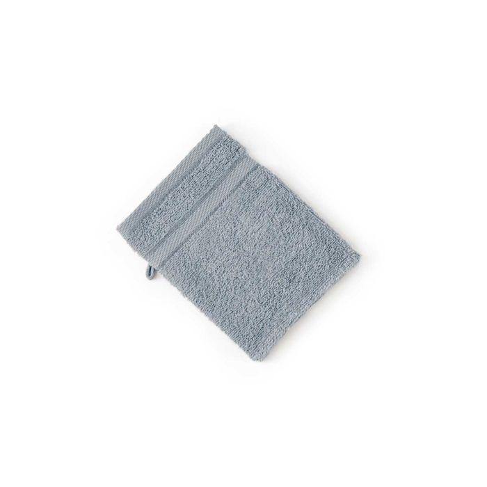 LINNICK Pure Washand 16x21cm - denim - Set van 6 - in Washandjes