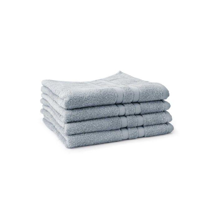 LINNICK Pure Handdoek 60x110cm - denim - Set van 4