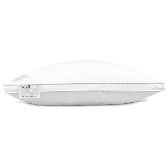 Heckett & Lane Box Hoofdkussen White 100% Veren - 60x70cm