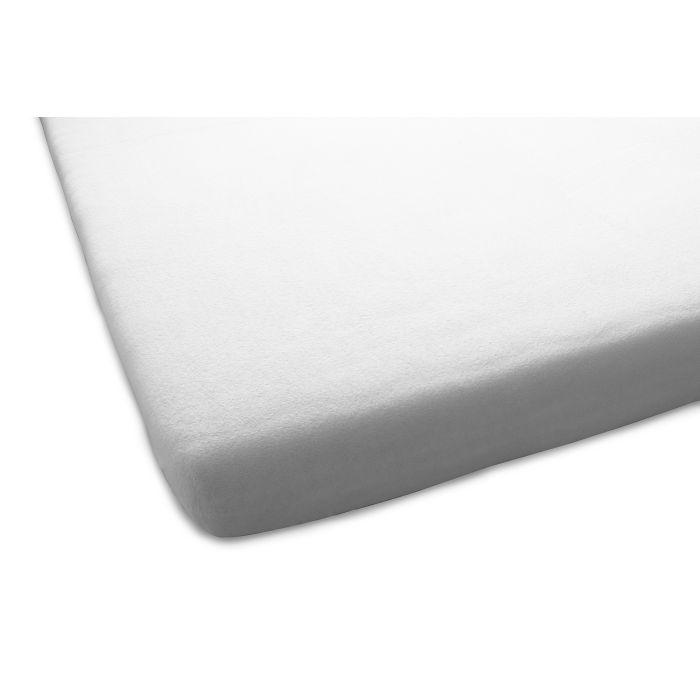 Home Ideas Aanbieding 1+1 Gratis Molton Flanel Stretch Hoeslaken - licht grijs