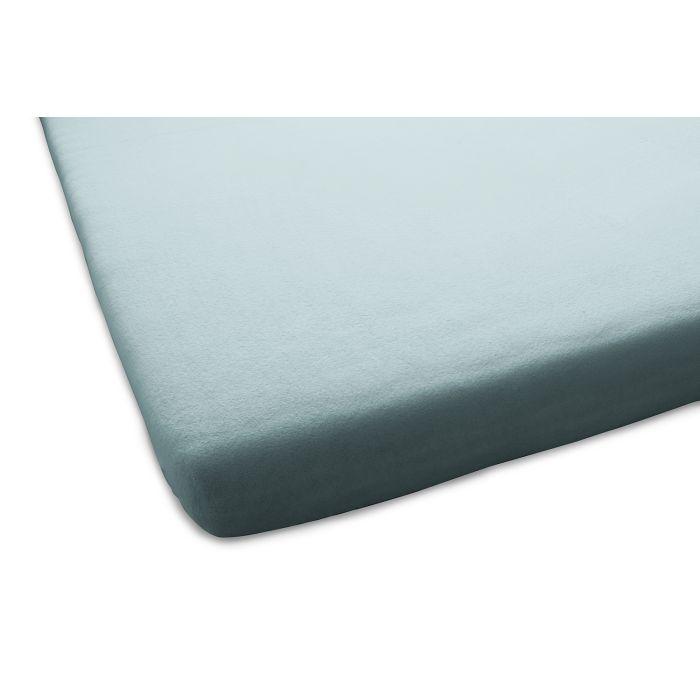 Home Ideas Aanbieding 1+1 Gratis Molton Flanel Stretch Hoeslaken - turquoise