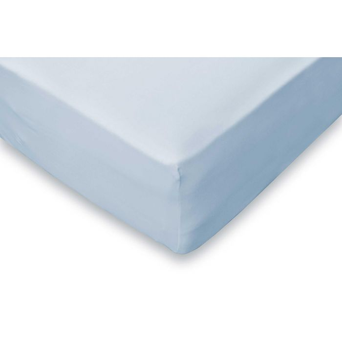 Elegance Hoeslaken Jersey Katoen Stretch 35cm Hoge Hoek - licht blauw