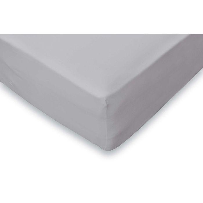 Elegance Hoeslaken Jersey Katoen Stretch 35cm Hoge Hoek - licht grijs