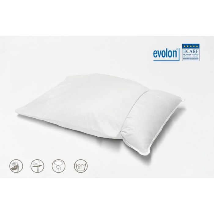 Evolon Anti Allergie Kussensloop - 60x70cm 2 stuks - in Kussenslopen