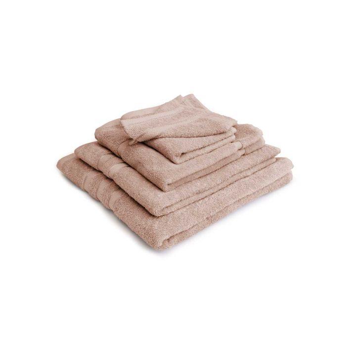 LINNICK Pure Badgoedset 100% Katoen - nude - 12-delig