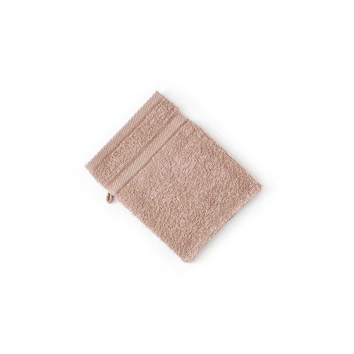 LINNICK Pure Washand 16x21cm - nude - Set van 6 - in Washandjes