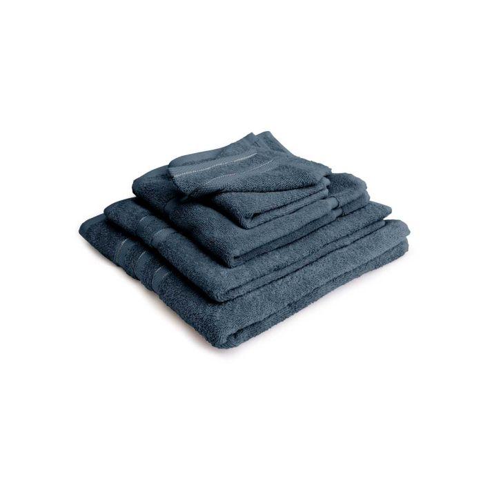 LINNICK Pure Badgoedset 100% Katoen - ocean blue - 12-delig