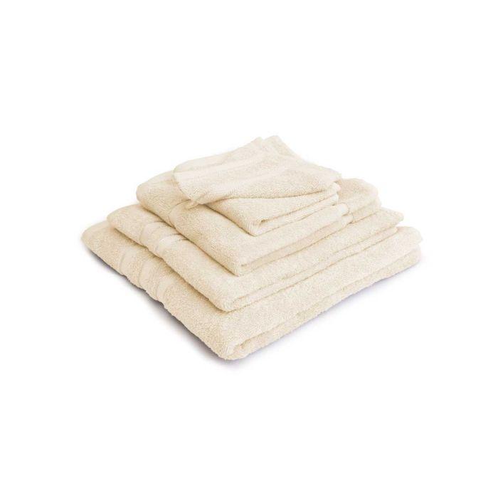 LINNICK Pure Badgoedset 100% Katoen - ivory - 12-delig
