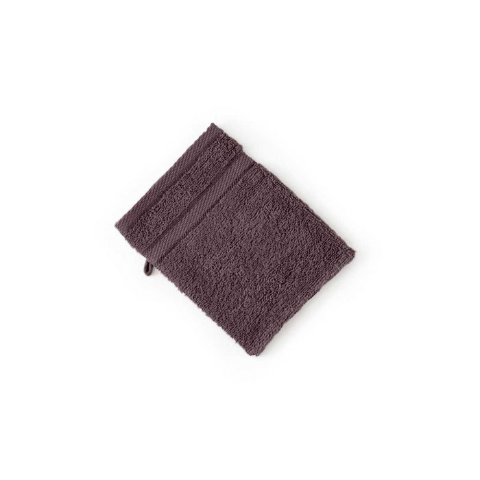 LINNICK Pure Washand 16x21cm - purple - Set van 6 - in Washandjes