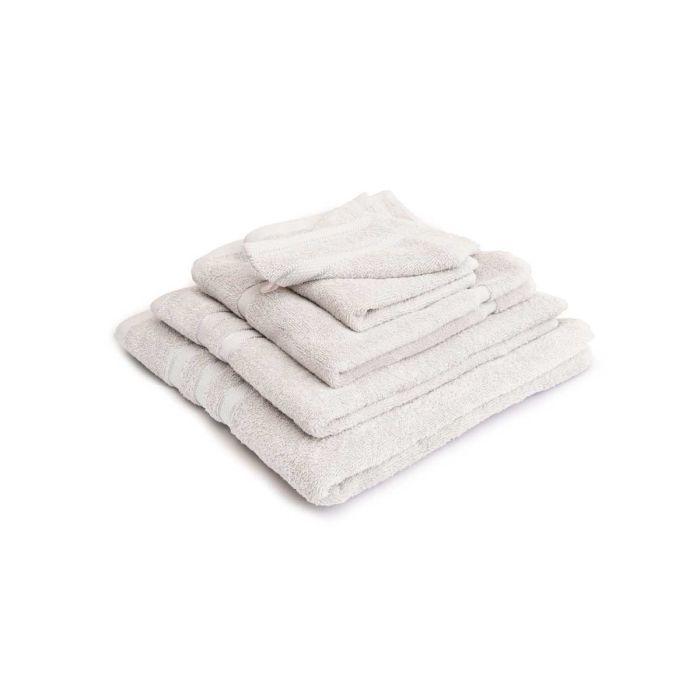 LINNICK Pure Badgoedset 100% Katoen - white - 12-delig