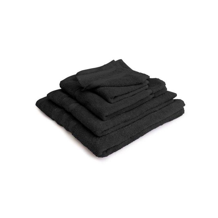 LINNICK Pure Badgoedset 100% Katoen - black - 12-delig